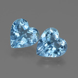 thumb image of 5.2ct Heart Facet Swiss Blue Topaz (ID: 448361)