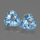 thumb image of 5.9ct Heart Facet Swiss Blue Topaz (ID: 448367)