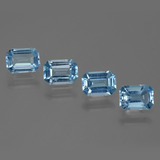thumb image of 1ct Octagon Step Cut Swiss Blue Topaz (ID: 448388)