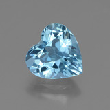 thumb image of 2.9ct Heart Facet Swiss Blue Topaz (ID: 448394)