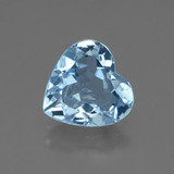 thumb image of 2.4ct Heart Facet Swiss Blue Topaz (ID: 448396)