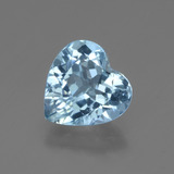 thumb image of 2.7ct Heart Facet Swiss Blue Topaz (ID: 448397)