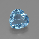 thumb image of 2.9ct Heart Facet Swiss Blue Topaz (ID: 448398)