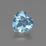 thumb image of 2.2ct Heart Facet Swiss Blue Topaz (ID: 448402)