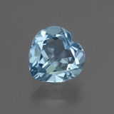 thumb image of 3ct Heart Facet Swiss Blue Topaz (ID: 448417)