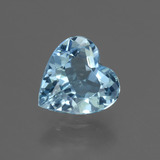 thumb image of 2.7ct Heart Facet Swiss Blue Topaz (ID: 448418)