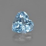 thumb image of 4.2ct Heart Facet Swiss Blue Topaz (ID: 448651)