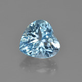 thumb image of 4.6ct Heart Facet Swiss Blue Topaz (ID: 448652)