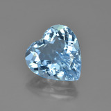 thumb image of 4.2ct Heart Facet Swiss Blue Topaz (ID: 448653)