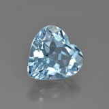 thumb image of 4ct Heart Facet Swiss Blue Topaz (ID: 448655)