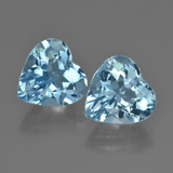 thumb image of 8.7ct Heart Facet Swiss Blue Topaz (ID: 448698)