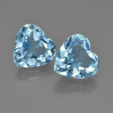 thumb image of 7.8ct Heart Facet Swiss Blue Topaz (ID: 448703)