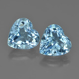 thumb image of 8.3ct Heart Facet Swiss Blue Topaz (ID: 448704)