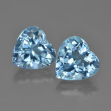thumb image of 4.2ct Herz facettiert Swiss Blue Topas (ID: 448705)