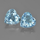 thumb image of 8.3ct Heart Facet Swiss Blue Topaz (ID: 448708)