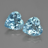 thumb image of 8.4ct Heart Facet Swiss Blue Topaz (ID: 448749)