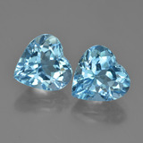 thumb image of 4.4ct Heart Facet Deep Maya Blue Topaz (ID: 448757)