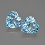 thumb image of 8.5ct Heart Facet Swiss Blue Topaz (ID: 448794)
