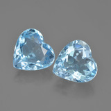 thumb image of 8.6ct Heart Facet Swiss Blue Topaz (ID: 448796)
