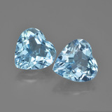 thumb image of 7.4ct Heart Facet Swiss Blue Topaz (ID: 448798)