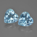 thumb image of 8.5ct Heart Facet Swiss Blue Topaz (ID: 448803)