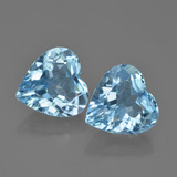 thumb image of 7.7ct Heart Facet Swiss Blue Topaz (ID: 448805)