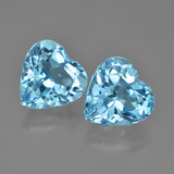 thumb image of 8.8ct Heart Facet Swiss Blue Topaz (ID: 448844)