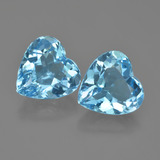 thumb image of 8.5ct Heart Facet Swiss Blue Topaz (ID: 448847)