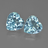 thumb image of 8.8ct Heart Facet Swiss Blue Topaz (ID: 448848)