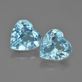 thumb image of 7.7ct Heart Facet Swiss Blue Topaz (ID: 448851)