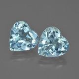 thumb image of 8.2ct Heart Facet Swiss Blue Topaz (ID: 448852)
