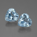 thumb image of 8.3ct Heart Facet Swiss Blue Topaz (ID: 448891)