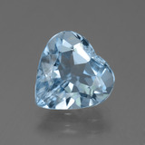 thumb image of 3.5ct Heart Facet Swiss Blue Topaz (ID: 448894)