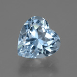 thumb image of 4.2ct Heart Facet Swiss Blue Topaz (ID: 448900)