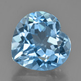 thumb image of 8.7ct Heart Facet Swiss Blue Topaz (ID: 448947)