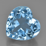 thumb image of 9.4ct Heart Facet Swiss Blue Topaz (ID: 449038)