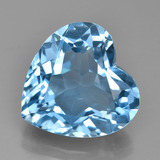 thumb image of 7.9ct Heart Facet Swiss Blue Topaz (ID: 449041)