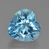 thumb image of 9ct Heart Facet Swiss Blue Topaz (ID: 449045)