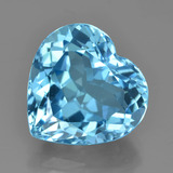 thumb image of 10.7ct Heart Facet Swiss Blue Topaz (ID: 449086)
