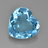 thumb image of 7.6ct Heart Facet Swiss Blue Topaz (ID: 449089)