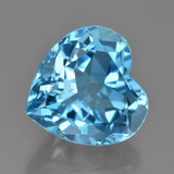 thumb image of 9.8ct Heart Facet Swiss Blue Topaz (ID: 449091)