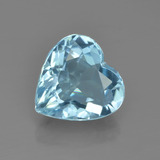 thumb image of 3.9ct Heart Facet Swiss Blue Topaz (ID: 449092)