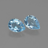 thumb image of 1.7ct Pear Facet Swiss Blue Topaz (ID: 449997)