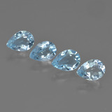 thumb image of 3.2ct Pear Facet Swiss Blue Topaz (ID: 450042)