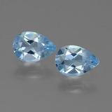 thumb image of 1.5ct Pear Facet Swiss Blue Topaz (ID: 450606)