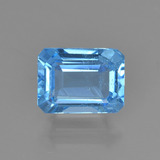 thumb image of 1.9ct Octagon Step Cut Swiss Blue Topaz (ID: 450824)