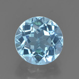thumb image of 2.4ct Round Facet Sky Blue Topaz (ID: 452160)