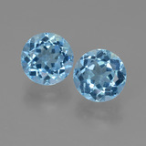 thumb image of 5.1ct Round Facet Sky Blue Topaz (ID: 452191)