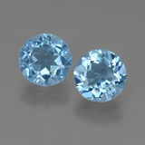 thumb image of 4.9ct Round Facet Sky Blue Topaz (ID: 452192)