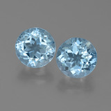 thumb image of 4.9ct Round Facet Sky Blue Topaz (ID: 452197)